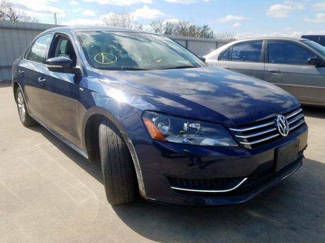 Salvage cars for sale from Copart Wilmer, TX: 2014 Volkswagen Passat S