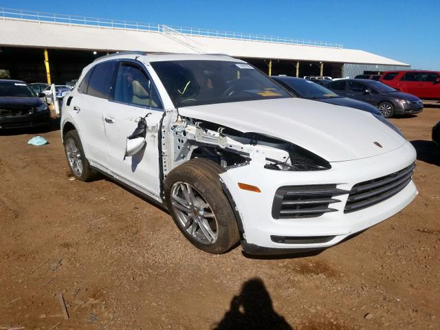 Porsche Cayenne salvage cars for sale: 2019 Porsche Cayenne