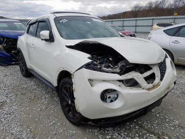 Nissan salvage cars for sale: 2016 Nissan Juke S
