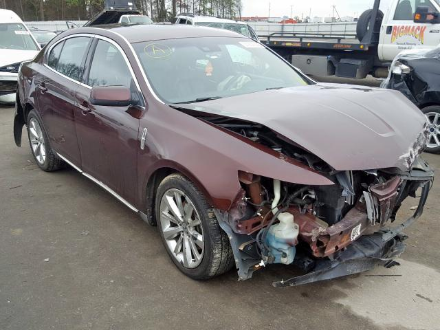 Salvage cars for sale from Copart Dunn, NC: 2009 Lincoln MKS