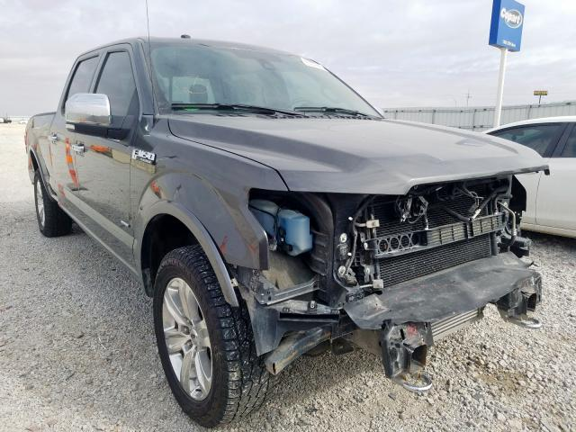Salvage cars for sale from Copart Greenwood, NE: 2016 Ford F150 Super