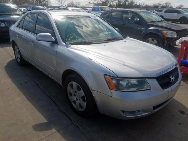Salvage cars for sale from Copart Wilmer, TX: 2009 Hyundai Sonata GLS