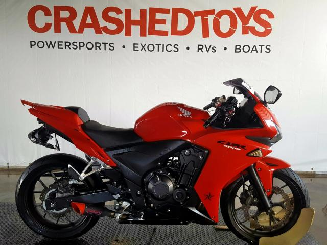 Salvage 2013 Honda CBR500 R for sale
