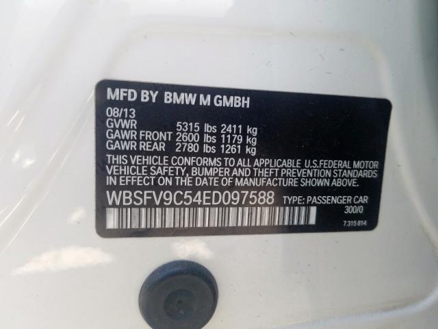WBSFV9C54ED097588