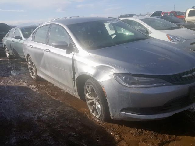 Vehiculos salvage en venta de Copart Brighton, CO: 2015 Chrysler 200 S