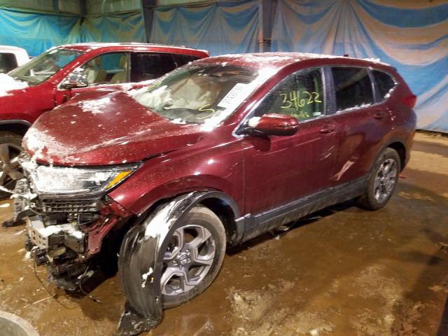 2018 Honda CR-V | Vin: 7FARW2H53JE017917