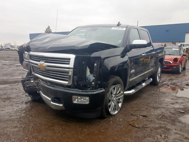 из сша 2015 CHEVROLET SILVERADO K1500 HIGH COUNTRY 3GCUKTEC1FG203774
