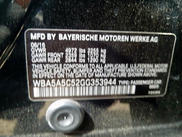 WBA5A5C52GG353944