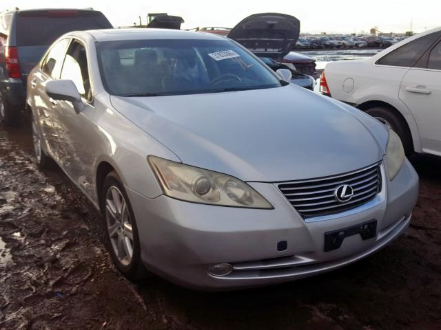 Lexus ES 350 salvage cars for sale: 2008 Lexus ES 350