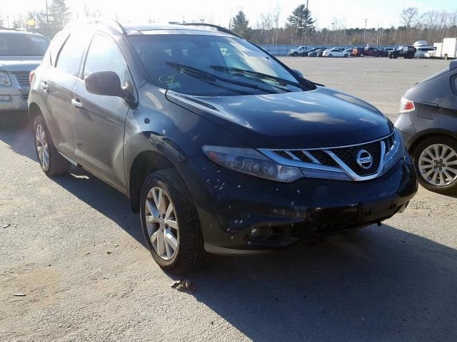 Salvage cars for sale from Copart North Billerica, MA: 2011 Nissan Murano S