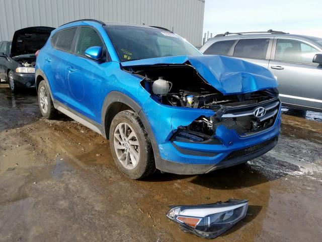 Hyundai salvage cars for sale: 2017 Hyundai Tucson Limited