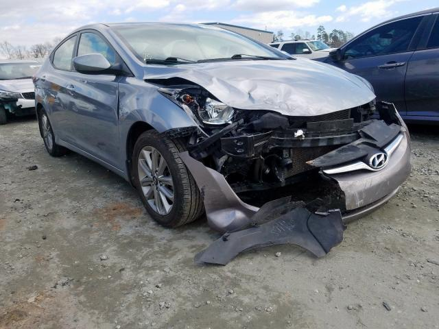 Salvage cars for sale from Copart Spartanburg, SC: 2016 Hyundai Elantra SE