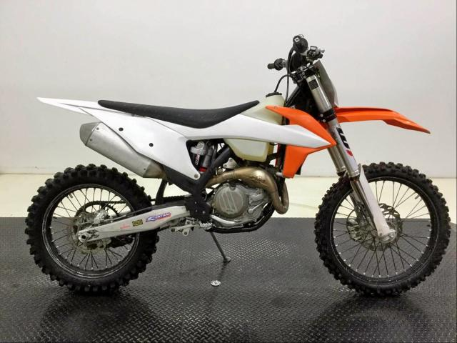 KTM salvage cars for sale: 2019 KTM 450 XC-F