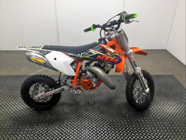KTM salvage cars for sale: 2018 KTM 50 / 65 SX