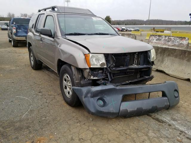Salvage cars for sale from Copart Concord, NC: 2008 Nissan Xterra OFF