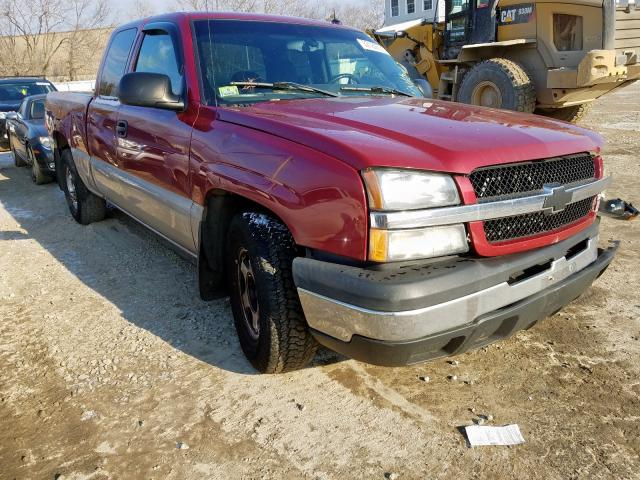 Salvage cars for sale from Copart North Billerica, MA: 2004 Chevrolet Silverado