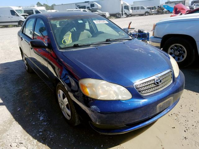 Salvage cars for sale from Copart Houston, TX: 2005 Toyota Corolla CE