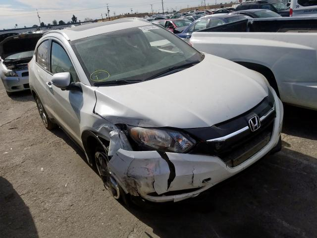 Honda HR-V EXL salvage cars for sale: 2016 Honda HR-V EXL