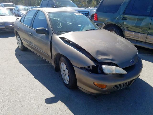 Chevrolet Cavalier salvage cars for sale: 1999 Chevrolet Cavalier