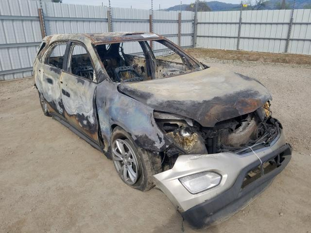 Salvage cars for sale from Copart San Martin, CA: 2016 Chevrolet Equinox LT