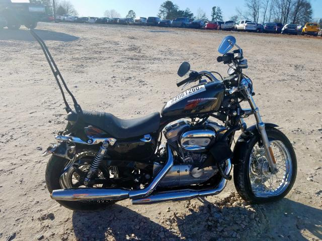 Harley-Davidson XL883 L salvage cars for sale: 2005 Harley-Davidson XL883 L