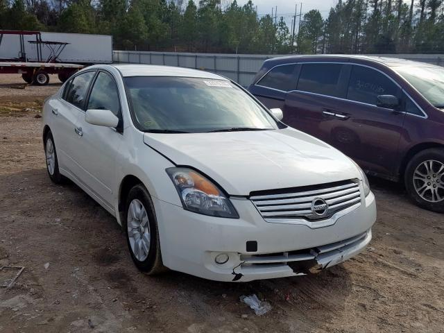 Salvage cars for sale from Copart Charles City, VA: 2009 Nissan Altima 2.5