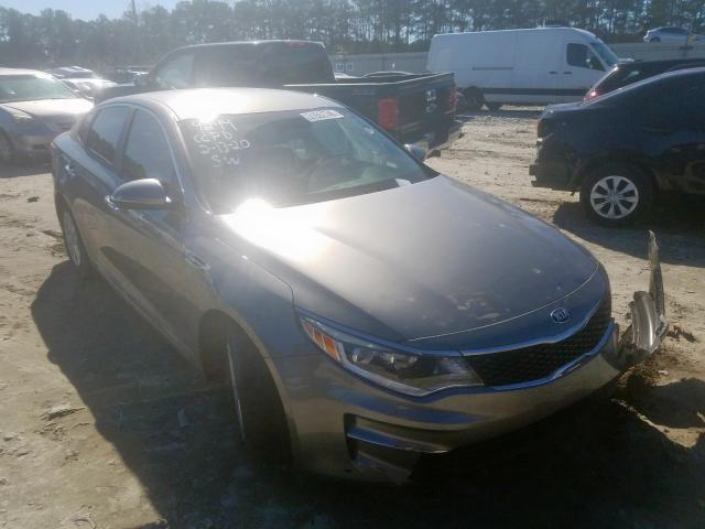 Salvage cars for sale from Copart Loganville, GA: 2016 KIA Optima LX