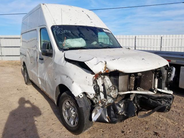 Nissan NV 2500 salvage cars for sale: 2013 Nissan NV 2500