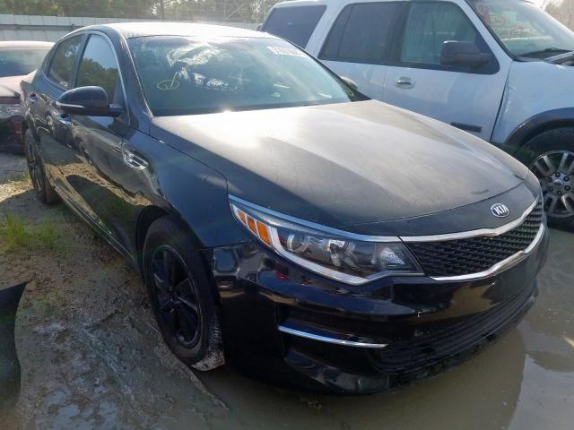 5XXGT4L34JG217179 - 2018 Kia Optima Lx 2.4L Left View