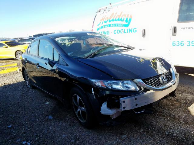 Salvage 2015 Honda CIVIC SE for sale