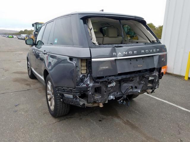 2017 Land Rover RANGE | Vin: SALGS2FV7HA330191