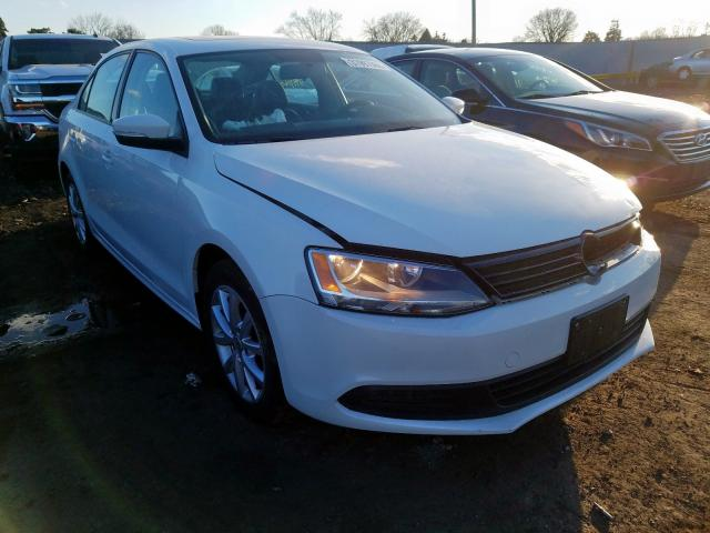 Salvage cars for sale from Copart Cudahy, WI: 2012 Volkswagen Jetta SE