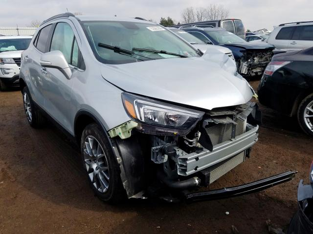 Buick Encore Sport salvage cars for sale: 2018 Buick Encore Sport