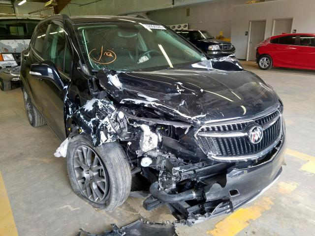 Buick Encore Sport salvage cars for sale: 2017 Buick Encore Sport