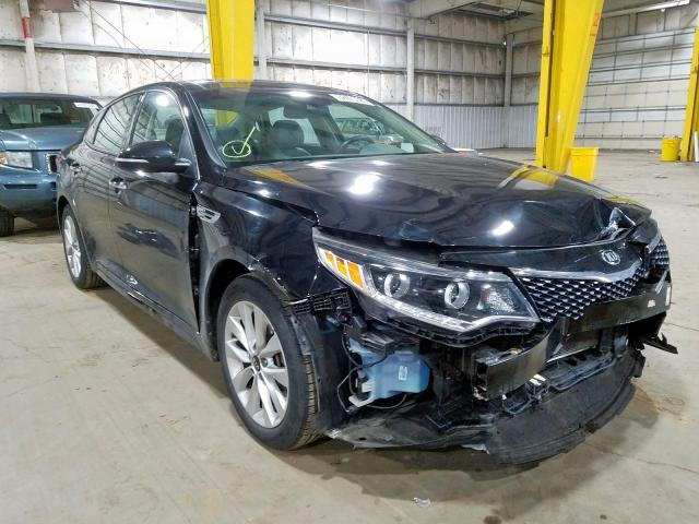 Salvage cars for sale from Copart Woodburn, OR: 2017 KIA Optima EX