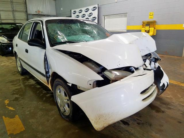 Salvage 1999 Chevrolet GEO PRIZM for sale