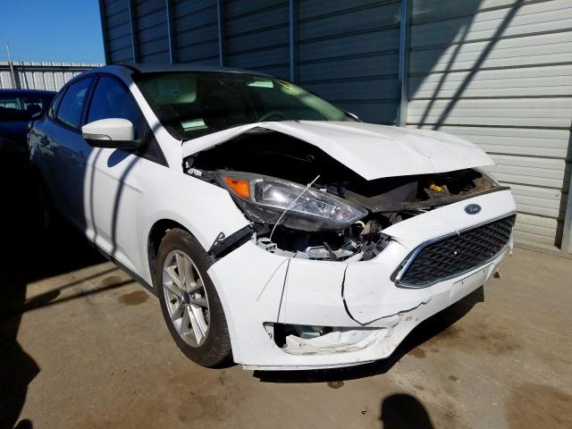 Ford Focus SE salvage cars for sale: 2017 Ford Focus SE
