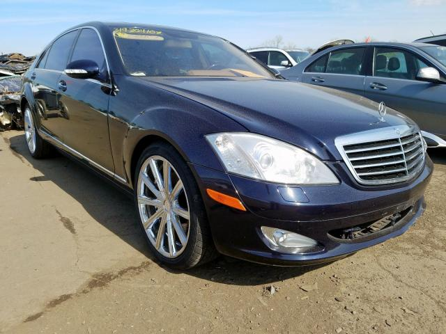 Mercedes-Benz salvage cars for sale: 2007 Mercedes-Benz S 550 4matic