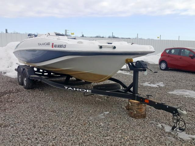 Tahoe Boat salvage cars for sale: 2018 Tahoe Boat