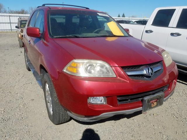 Acura MDX Touring salvage cars for sale: 2005 Acura MDX Touring