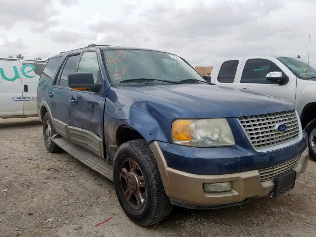 Salvage cars for sale from Copart Houston, TX: 2003 Ford Expedition