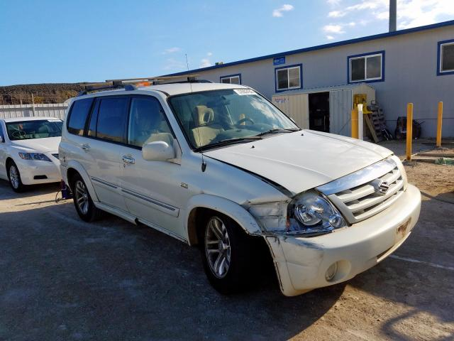 Suzuki XL7 EX salvage cars for sale: 2005 Suzuki XL7 EX