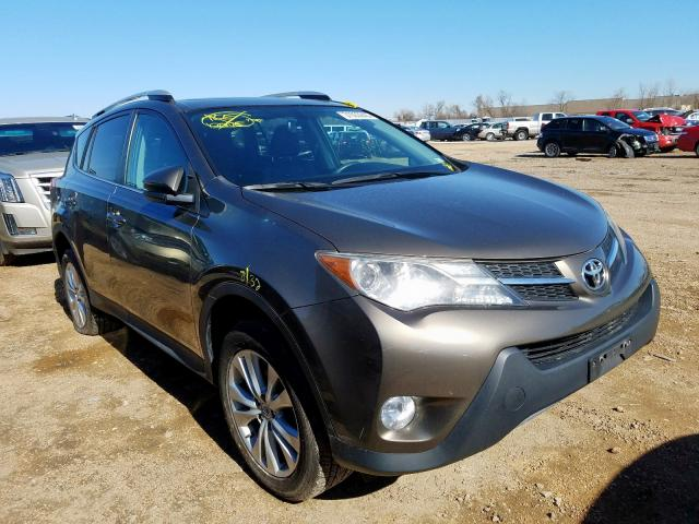Salvage cars for sale from Copart Bridgeton, MO: 2013 Toyota Rav4 Limited
