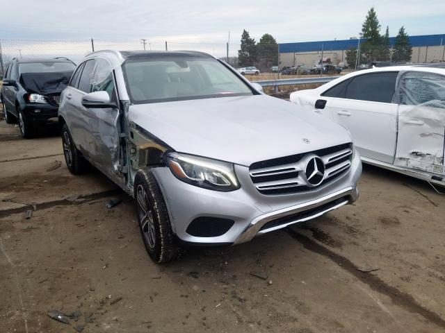 Mercedes-Benz GLC 300 4M salvage cars for sale: 2019 Mercedes-Benz GLC 300 4M