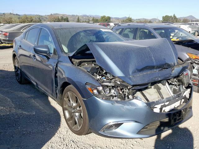 2017 Mazda 6   Vin: JM1GL1X58H1130577