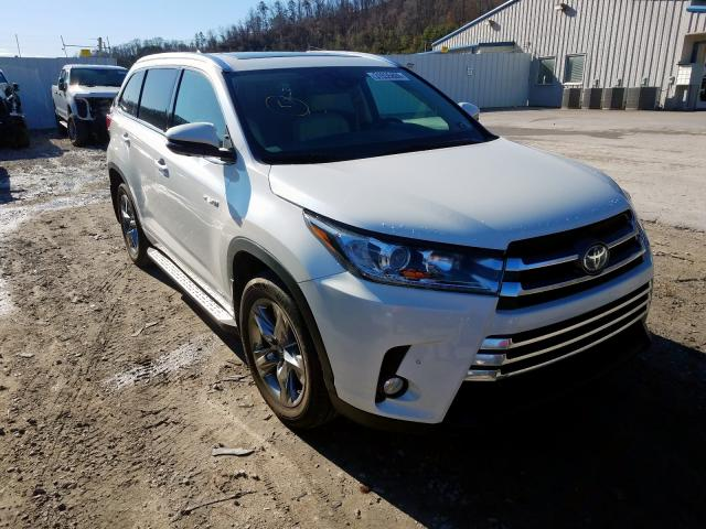Salvage cars for sale from Copart Hurricane, WV: 2017 Toyota Highlander