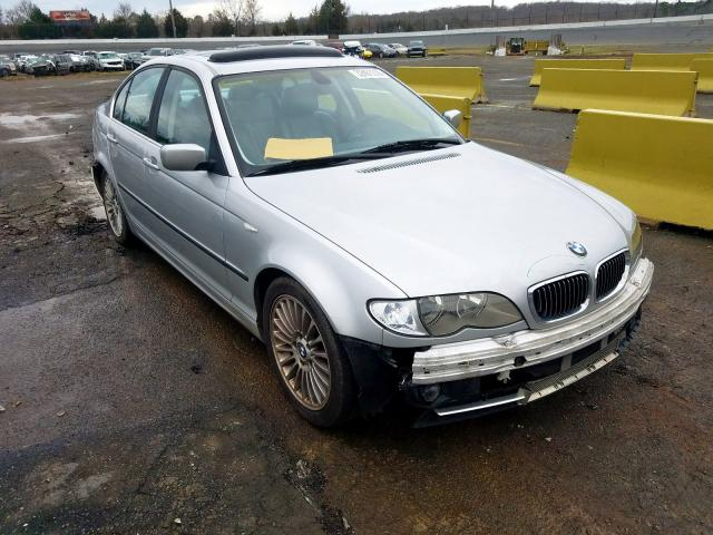 BMW 330 I salvage cars for sale: 2002 BMW 330 I