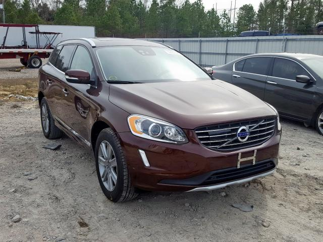 Volvo XC60 T5 IN salvage cars for sale: 2017 Volvo XC60 T5 IN