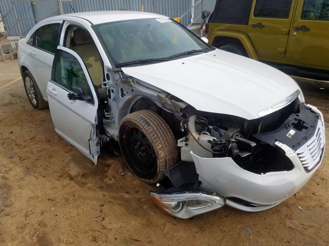 Salvage cars for sale from Copart Gaston, SC: 2014 Chrysler 200 LX