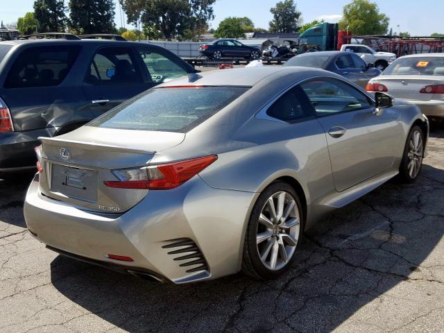 2015 Lexus RC   Vin: JTHHE5BC1F5001547